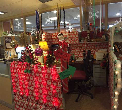 100 office cubicle christmas decorating contest rules