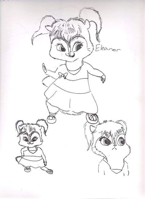 printable chipettes coloring pages  kids
