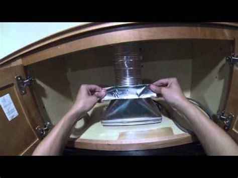 install  microwave hood  exhaust fan diy