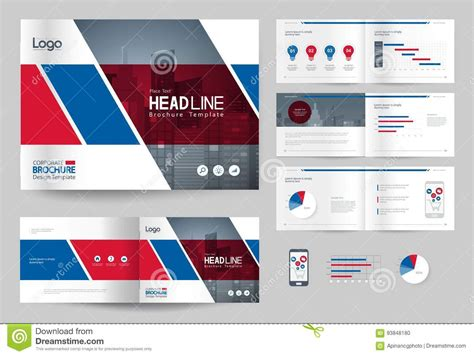 business brochure design template  page layout