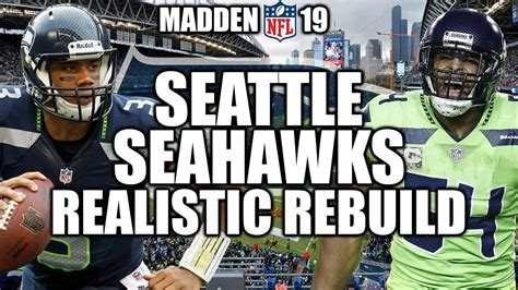rebuilding  seattle seahawks madden  connected