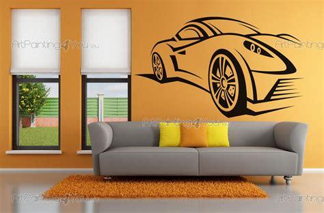 voiture de course stickers muraux vdd1054fr artpainting4you eu