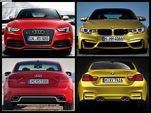 Bmw M4 Vs Audi Rs5  Epic Track Battle