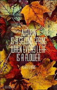 Autumn is a sec... Autumn And Death Quotes