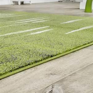 Teppich Grün Grau : moderner wohnzimmer teppich matrix design kurzflor meliert gr n grau creme moderne teppiche ~ Markanthonyermac.com Haus und Dekorationen