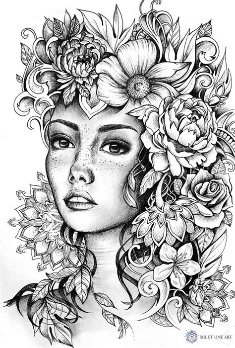 Illustration - June 2016 | Tattoo coloring book, Coloring
