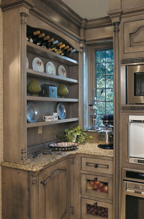 green kitchen cabinets Kitchen Eclectic with beige tile