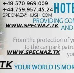Fidel Matola Professional Security Bodyguard Company In ...