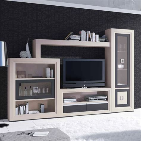 muebles modernos  salon en madera