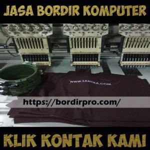 Vendor Bordir Komputer Surabaya Jasa
