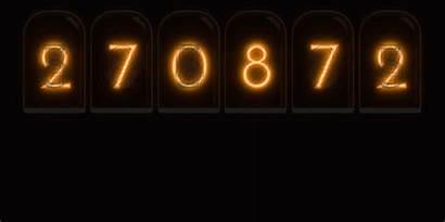 Number Random Generator Nixie Tube Cathode Cold