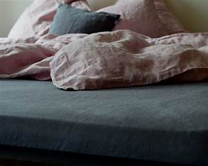 Spannbettlaken 90 X 160 : leinen spannbettlaken dunkelgrau 90 100x 200cm 140x 200 cm ~ Markanthonyermac.com Haus und Dekorationen