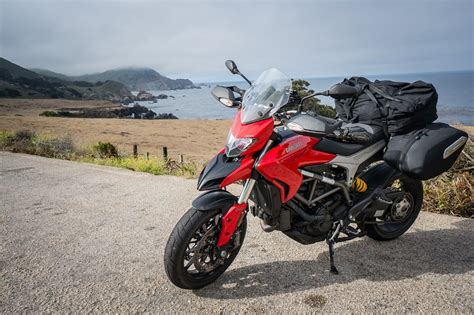 Review Ducati by 2015 Ducati Hyperstrada Review Revzilla