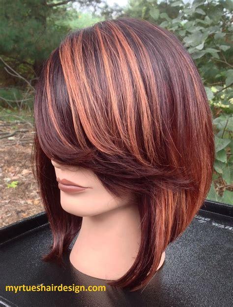 25 best ideas about color block hair on plum