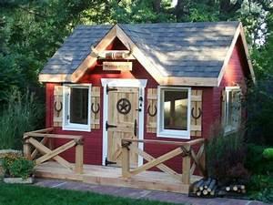 Maison Jardin Pour Enfant : la cabane de jardin pour enfant est une id e superbe pour ~ Premium-room.com Idées de Décoration