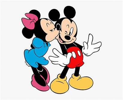 Minnie Mickey Kiss Mouse Clip Clipart Kissing