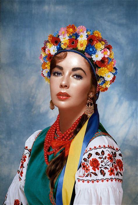 elizabeth taylor images ukrainian traditional dress hd