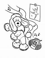 Coloring Pages Dance Poodle Dog Funny Tap Hop Hip Dancing Learn Printable Bestcoloringpagesforkids Frame Getcolorings Template sketch template
