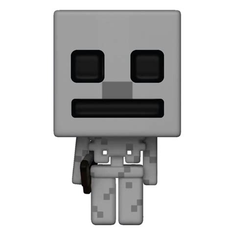 minecraft skeleton pop vinyl figure pop   box uk