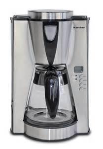 karcher design de karcher 112884 kaffeemaschine silver mit timer