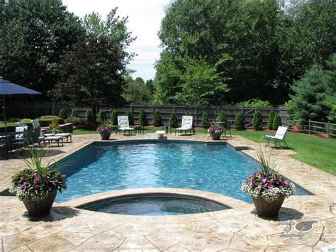 stamped concrete  pool google search pool