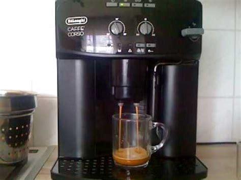 delonghi caffe corso  youtube