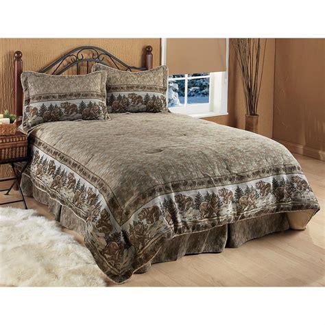 kodiak tapestry border comforter set 130380 comforters at sportsman s guide