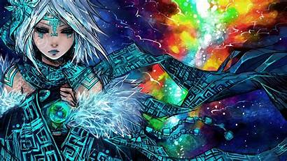 Anime Tribal Mage Wallpapers Desktop Backgrounds Tapete