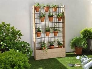 Mur Vegetal Exterieur : diy fabriquer un mur v g tal d 39 ext rieur leroy merlin ~ Melissatoandfro.com Idées de Décoration