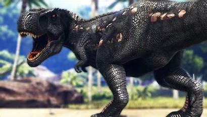 Ark Survival Evolved Wallpapers Rex Background Dinosaur