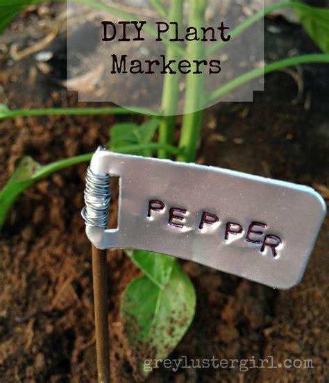 diy gardening diy garden plant markers