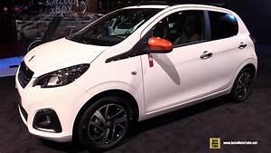 Peugeot 108 5 Türig : 2017 peugeot 108 top roland garros exterior and interior walkaround 2016 paris auto show ~ Jslefanu.com Haus und Dekorationen