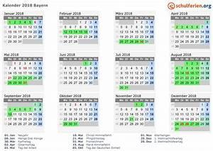 Kalender 18 19 : kalender 2018 ferien bayern feiertage ~ Jslefanu.com Haus und Dekorationen