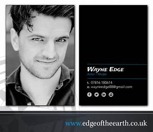 Actors business cards edge of the earth for Business cards for actors
