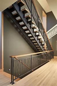 Garde corps fer forgé pour escalier intérieur ou extérieur