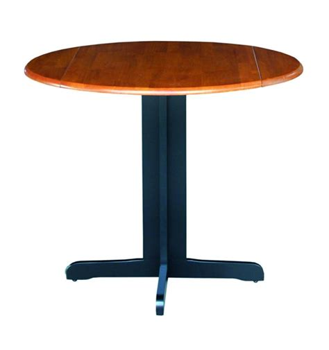 36 inch contemporary dropleaf table unlimited