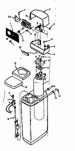 Kenmore 625340300 Water Softener Parts