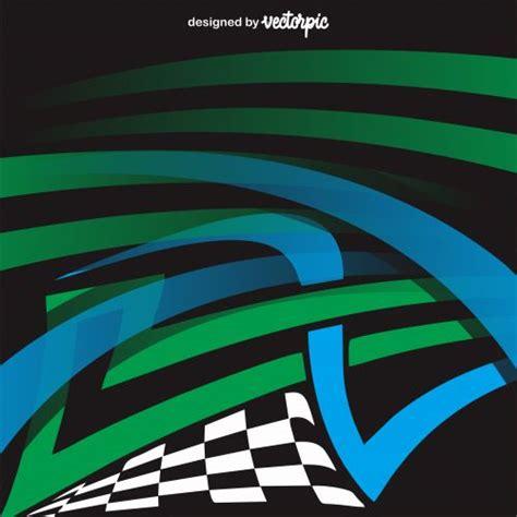 racing stripes streaks background  vector ilustrasi