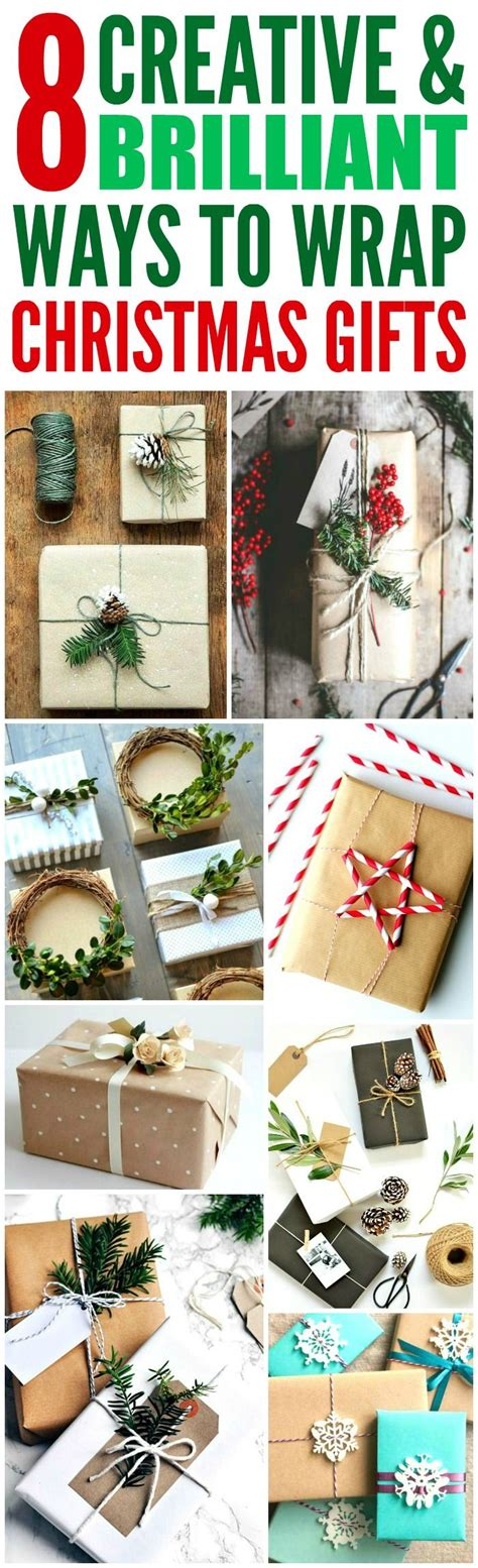 These 8 Creative Ways To Wrap Christmas Presents Are The
