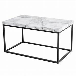 coffee table for living room with faux marble top black With black faux marble coffee table