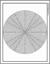 Geometric Coloring Pages Pdf Grill Designs Bbq Labyrinth Circular Colorwithfuzzy Web sketch template