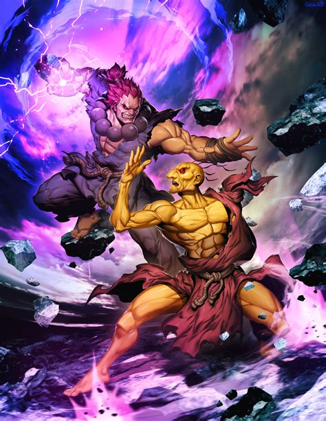 Street Fighter Unlimited 5 Cover Oro Vs Akuma By