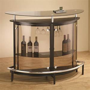 Coaster bar units and bar tables 101065 contemporary bar for Home bar furniture in melbourne
