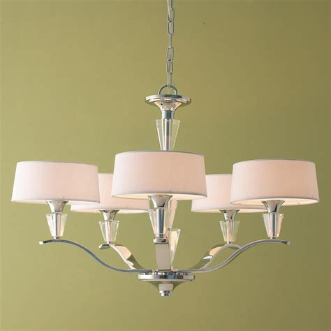 modern chandelier shades maybe for diningroom modern tiered and chrome