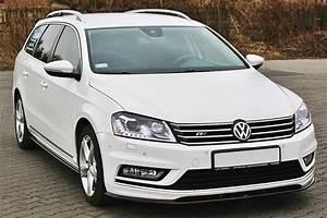 Volkswagen Passat B7 Front Spoiler R Line