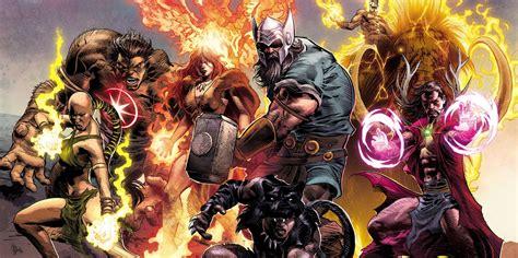 Marvel Reveals Full Lineup Of 1,000,000 Bc Avengers