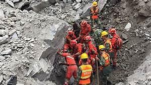 'Only Three Survive' Sichuan Landslide as Rescue Effort ...