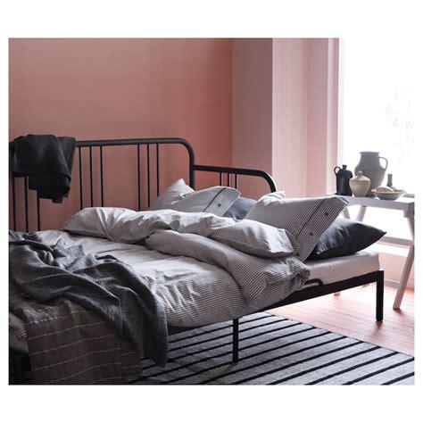fyresdal daybed frame black ikea