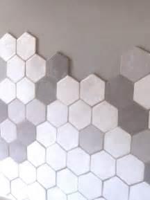 Carrelage Hexagonal Blanc : carrelage hexagonal nils c ramiques claire hecquet chaut ~ Premium-room.com Idées de Décoration