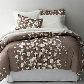 crate and barrel covers marimekko lumimarja taupe bed linens in duvet covers